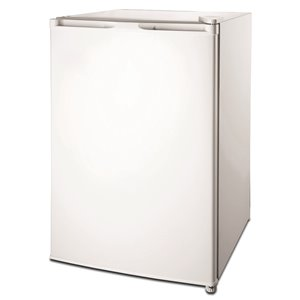 RCA 4.5 cu ft Freestanding Compact Fridge with Freezer Compartment - White