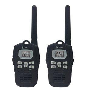 Cobra MicroTALK 22-Channel FRS/GMRS 2-Way Radio/Walkie Talkie - 56 Km - 2-Pcs