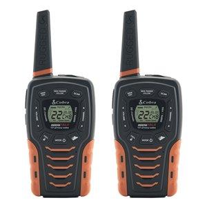 Radios bidirectionnelles/émetteurs-récepteurs Cobra Adventure Series, 56 km, 22 canaux, 2 mcx