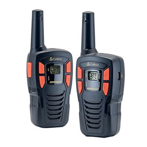 Cobra MicroTALK 22-Channel FRS/GMRS 2-Way Radio/Walkie Talkie - 25 Km - 2-Pcs