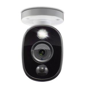 Caméra 1080p extérieur additionnels avec lumière d'vertissement Swann