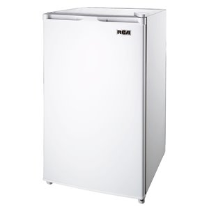 RCA 3.2 cu ft Freestanding Compact Mini Fridge with Freezer Compartment - White