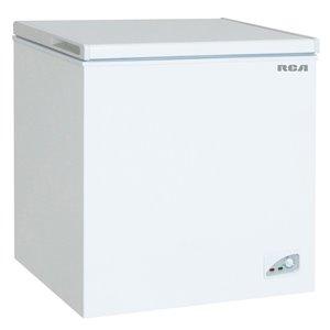 Congélateur coffre compact RCA, 7,1 pi³, certifié Energy Star, blanc