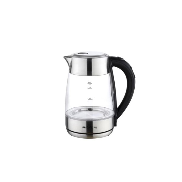 Frigidaire EKET102 7-Cup 1.7 L Electric Kettle with Digital Temperature - Stainless Steel
