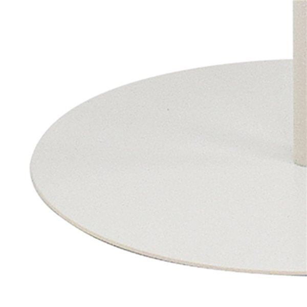 Table d'appoint moderne ronde !nspire, taupe