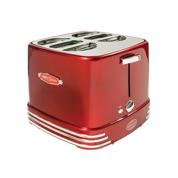 Nostalgia 4 Hot Dogs & Buns Pop-Up Toaster