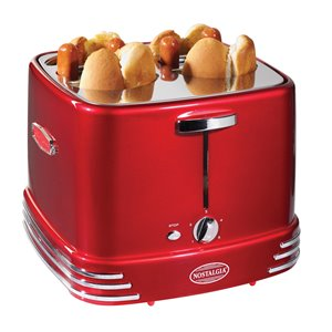 Nostalgia 4 Hot Dogs & Buns Pop-Up Toaster