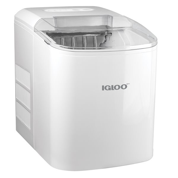 Igloo 26-Pound Automatic Portable Countertop Ice Maker Machine - White