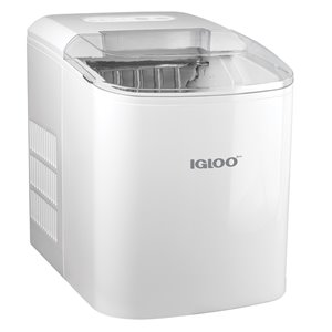 Igloo 26-Pound Automatic Portable Countertop Ice Maker Machine - White