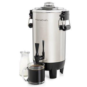 Nostalgia HomeCraft CU30SS Quick-Brewing 1000-Watt Automatic 30-Cup Coffee Urn