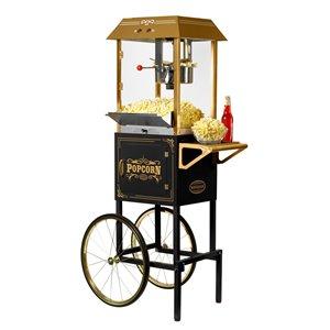 Nostalgia Vintage 10-Ounce Vintage Professional Popcorn Cart