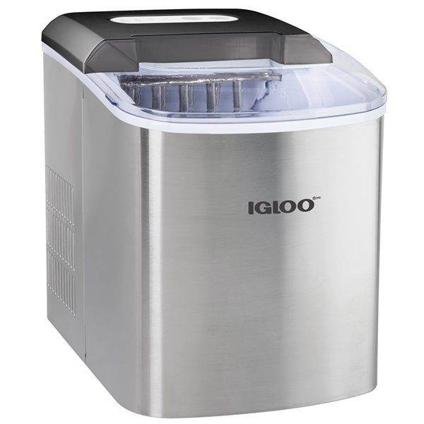 Igloo 26-Pound Automatic Portable Ice Maker - Stainless Steel