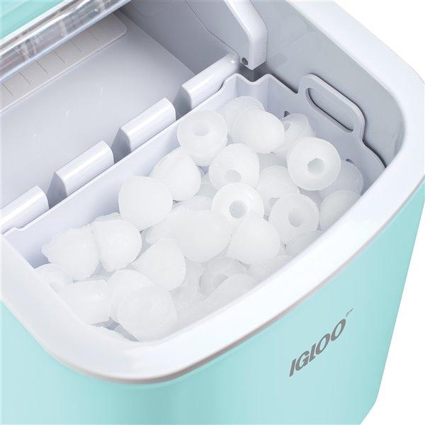 Igloo 26-Pound Automatic Portable Countertop Ice Maker Machine - Aqua