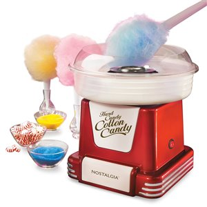 Nostalgia Retro Hard & Sugar-Free Candy Cotton Candy Maker