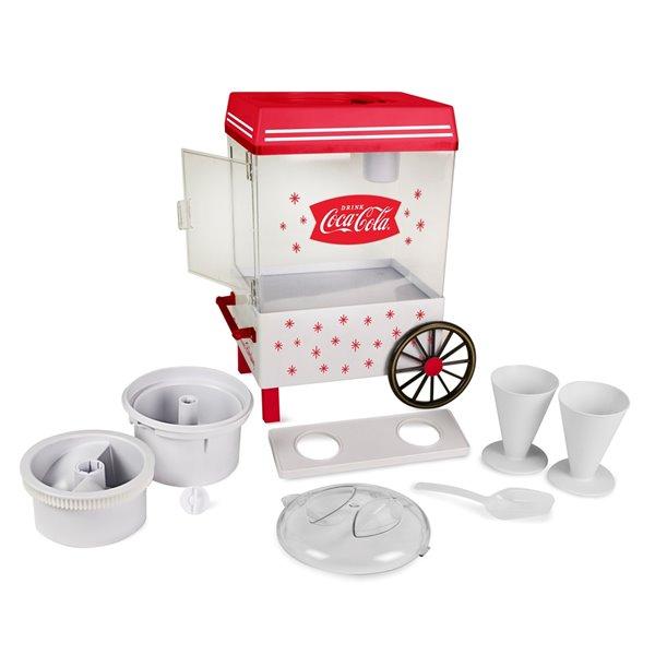 Nostalgia Coca-Cola Snow Cone Maker - Red