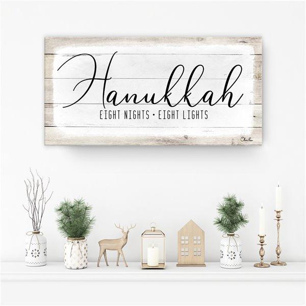 Ready2HangArt 'Hanukkah' Holiday décoration murale