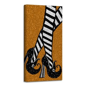 Ready2HangArt 'Chic & Bewitched I' Halloween Wall Art - 8-in x 8-in