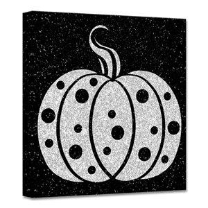 Ready2HangArt 'Glamoween Pumpkin II' décoration murale, 12 po x 12 po