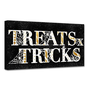 Ready2HangArt 'Treats & Tricks' Halloween Wall Art - 24-in x 24-in