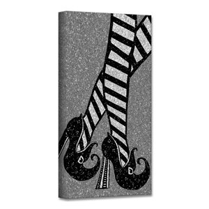 Ready2HangArt 'Chic & Bewitched III' Halloween Wall Art - 8-in x 8-in