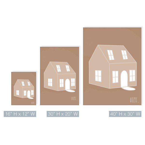 Ready2HangArt 'Minimal Home' Fall Havest Wall Art - 40-in