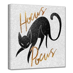 Ready2HangArt 'Hocus Pocus' Halloween Wall Art - 20-in x 20-in