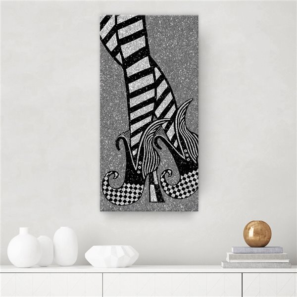 Ready2HangArt 'Chic & Bewitched IV' décoration murale, 12 po x 12 po