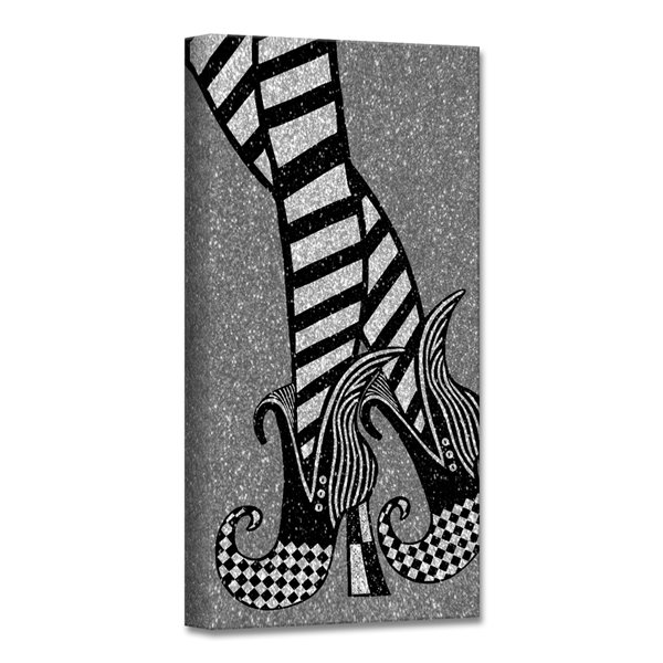Ready2HangArt 'Chic & Bewitched IV' Halloween Wall Art - 12-in x 12-in