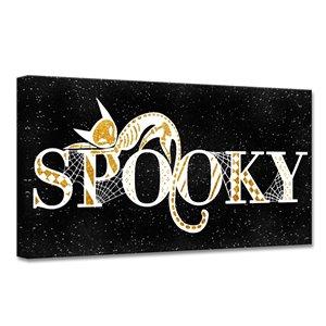 Ready2HangArt 'Spooky Glam' Halloween Wall Art - 16-in x 16-in
