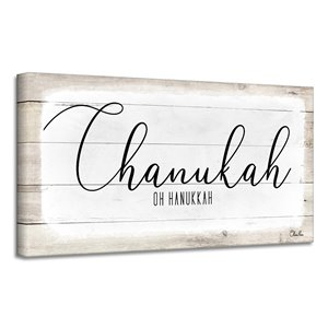 Ready2HangArt 'Chanukah' Hanukkah Canvas Wall Art