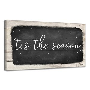 Ready2HangArt 'Tis the Season' Canvas Wall Art - 8-in x 16-in