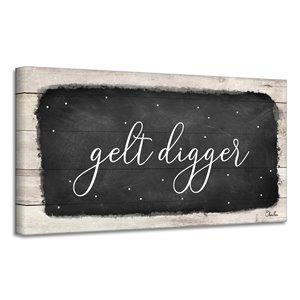 Ready2HangArt 'Gelt Digger' Hanukkah décoration murale