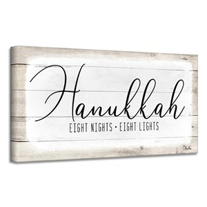 Ready2HangArt 'Hanukkah' Holiday Canvas Wall Art