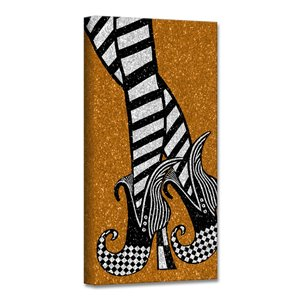 Ready2HangArt 'Chic & Bewitched II' Halloween Wall Art - 8-in x 8-in
