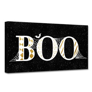 Ready2HangArt 'Boo Glam' décoration murale, 16 po x 16 po