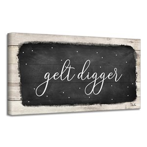 Ready2HangArt 'Gelt Digger' Hanukkah Canvas Wall Art