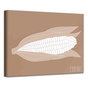 Ready2HangArt 'Minimal Corn' Fall Havest Wall Art - 12-in