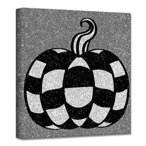 Ready2HangArt 'Glamoween Pumpkin III' décoration murale, 12 po x 12 po