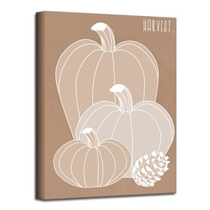 Ready2HangArt 'Minimal Harvest I' Fall Wall Art - 30-in