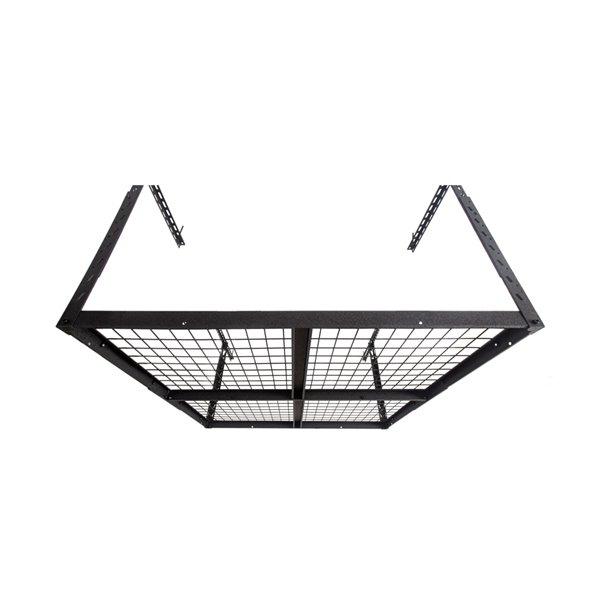 Systèmes de stockage de garage de Caterpillar, 48 po x 38 po, acier, noir