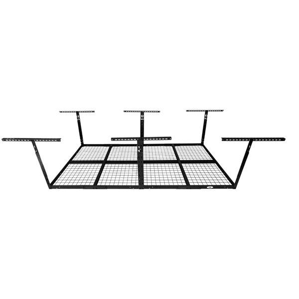 Systèmes de stockage de garage de Caterpillar, 98 po x 38 po, acier, noir