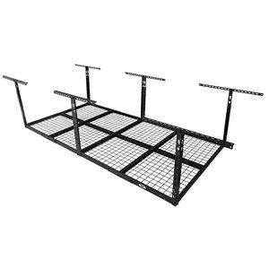 Systèmes de stockage de garage de Cat, 98 po x 38 po, acier, noir