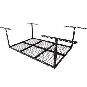 Systèmes de stockage de garage de Cat, 72 po x 38 po, acier, noir