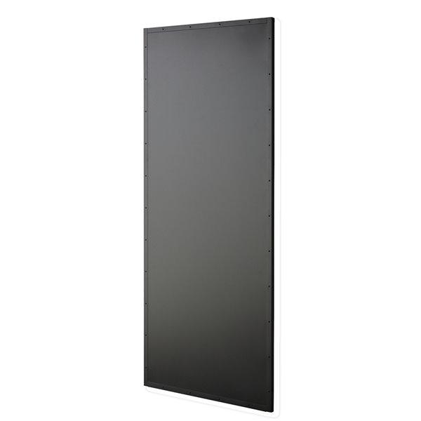 Colonial Elegance Chalkboard Prefinished MDF Barn Door - 33-in x 84-in - Black