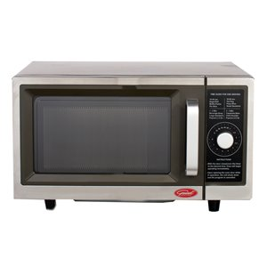 General Commercial Microwave - 1-cu ft - 1,000 Watts - Stainless Steel