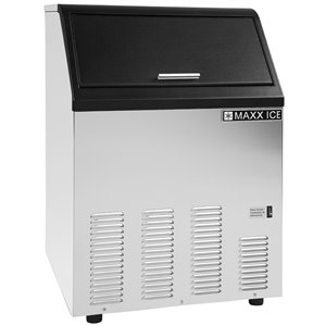 Maxx Ice Freestanding/Undercounter Ice Maker - 130-lb - Stainless Steel