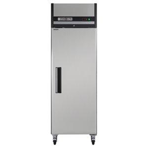 Réfrigérateur commercial X Series Maxx Cold à 1 porte, 23 pi³, acier inoxydable
