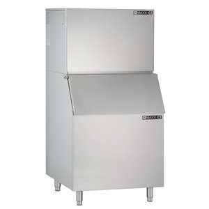 Maxx Ice Freestanding Ice Maker - 450-lb - Stainless Steel
