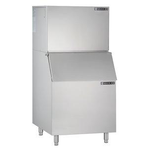 Machine à glaçons autoportante Maxx Ice, 450 lb, acier inoxydable