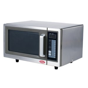 General Digital Commercial Microwave - 1-cu ft - 1,000 Watts - Stainless Steel